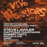 Matthias Tanzmann @ VIVa Warrios Pool Party, The National Hotel (WMC 2014, Miami) - 26-Mar-2014