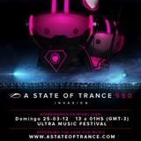 #ASOT550 - Cosmic Gate - Live at Ultra Music Festival in Miami, Florida, FL (25.03.2012)
