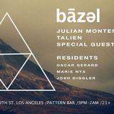 Julian Montenegro Live @ Bazel Pattern Bar LA