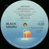 Black Uhuru 'Anthem' LP Original Mix (Unreleased) 1984