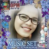 BIRTHDAY MUSIC SET FOR JL LARIOSA