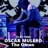 Oscar Mulero - Live @ The Omen, Madrid (11.07.1994) INEDITO; Ripped: POLACO MORROS & BAFOMEVS