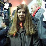 Liliana Toribio Tesorera Independiente en Futbol al Rojo Vivo con Franco Di Perna