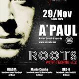 Djadja live @ Roots with Techno, 29.11.13