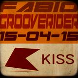 FABIO & GROOVERIDER @ KISS FM - 15/04/15