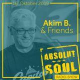 Absolut Soul Show /// 16.10.2019 on SOULPOWERfm