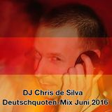 DJ Chris de Silva - Deutschquoten-Mix 06/2016