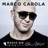 Marco Carola @ Music On the Mix - IBIZA 2013