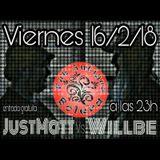 JustMatt & djWillBe Live. Pub Antigua Bolera