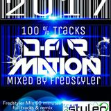 100% Tracks D-Formation Mixed by Fredstyler ( 1 heure )