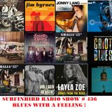 SURFINBIRD RADIO SHOW # 436 BLUES WITH A FEELING !
