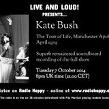 Kate Bush Live at Manchester Apollo - April 1979