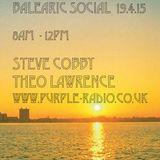 Black & Amber - Balearic Social radio mix 19-4-15