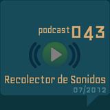 RECOLECTOR DE SONIDOS 043 - 07/2012