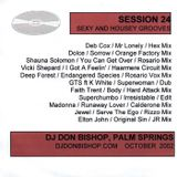 Session 24-Sexy & Housey - DJ Don Bishop October 2002
