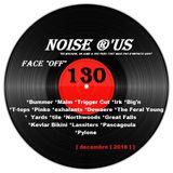 """Noise r'us # 130 """"face off"""" special 100% noise rock 2018 vol.3 (Décembre 2018)"""