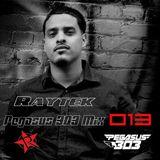 Pegasus 303 Mix 013 with Raytek