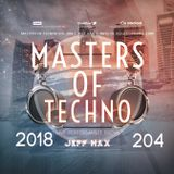 Masters Of Techno Vol.204 by Jeff Hax