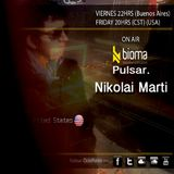 Nikolai Marti - Guest mix on PULSAR [www.biomaradio.com] (Argentina)
