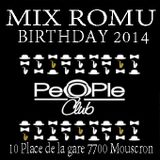 Mix Birthday romu @ peopleclub mars 2014