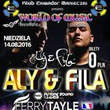 """Aly & Fila - Ekwador Manieczki """"Muzyczne Radio"""""""