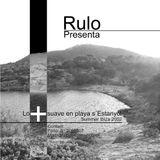 Dj Rulo, presenta lo + suave en playa s´Estayol, Ibiza verano 2002