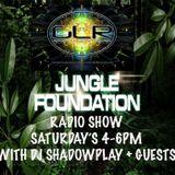 The Jungle Foundation Show Live  groundlevelradio.co.uk with DJ Shadowplay 25/11/2017