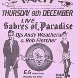 Andrew Weatherall and Sabres of Paradise live at Herbal Tea Party Manchester 8 December 1994