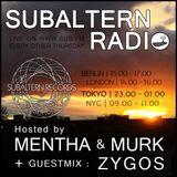 Mentha b2b Murk + Zygos Guestmix - Subaltern Radio 27/04/2017 SUB.FM