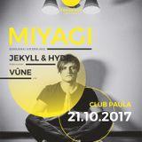VUUNE @ DAVE prestens Miyagi - Club Paula Dresden (21.10.2017)