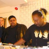 DJ A. Vee & DJ Spinna on The Underground Railroad WBAI 99.5fm NYC 8.10.1996