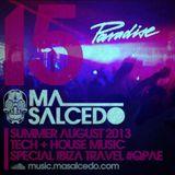 15 - Agosto 2013 IBIZA QPAE - Tech + House 125bpm by ma_Salcedo