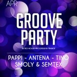 DJ PAPPI@GROOVE PARTY05/04/2014@UHUclub