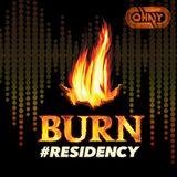 BURN RESIDENCY 2017 - DJ Johny J