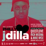 Philly Loves J Dilla 2013 w/ Dj's Questlove, Mike Nyce and Rich Medina | Part 1