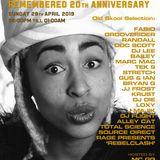 Loxy, DJ Ink, T.Science, S.Direct, J Majik w/Flux @ Kemistry Remembered 20th Ann @ VU 28.04.19