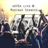 xAVEr live @ Musique Seances (Warm Up)