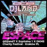 espace (bassworx dxb) live! @ djland 7 - krakow pl - 2017-08-11