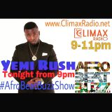Afrobeat Buzz Show interviews Yemi Rush 30.6.15