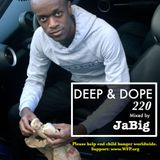 Upbeat Party House Music DJ Mix by JaBig - DEEP & DOPE 220