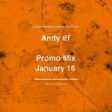 Andy Ef - Promo Mix (January 16)