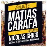Ghigo 23-08-2013 (warmup for Matias Carafa) @ Welcome