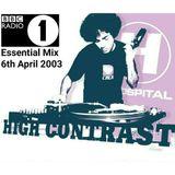 BBC Radio 1 Essential Mix - High Contrast (6 April 2003)