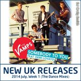 2014-07-06 July Week 1 New UK Chart Releases (The Dance Mixes)