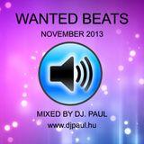 Wanted Beats 2013 November Mixed By Dj Paul (www.djpaul.hu)