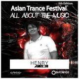 Henry Moe - Asian Trance Festival 5th Edition 2016-NOV-6