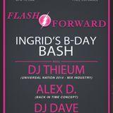 Alec & Thieum - A l'ancienne - special Ingrid bday - Flash Forward - le 29.11.14