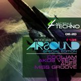 Art Style: Techno | Podcast #134 [AIRSOUND SPECIAL EDITION]: Akos Veecs