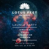 Yrnol vs. Afrodiziak @ Lotus Feet Records Launch Party (01.02.2014)