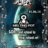 GON Melting Pot - Dj Set recorded live at La Selva Radio - 23/06/2015 - ONLY VINYL